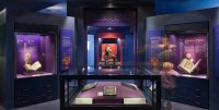 Image of the Sacred Traditions gallery on the second floor of the museum